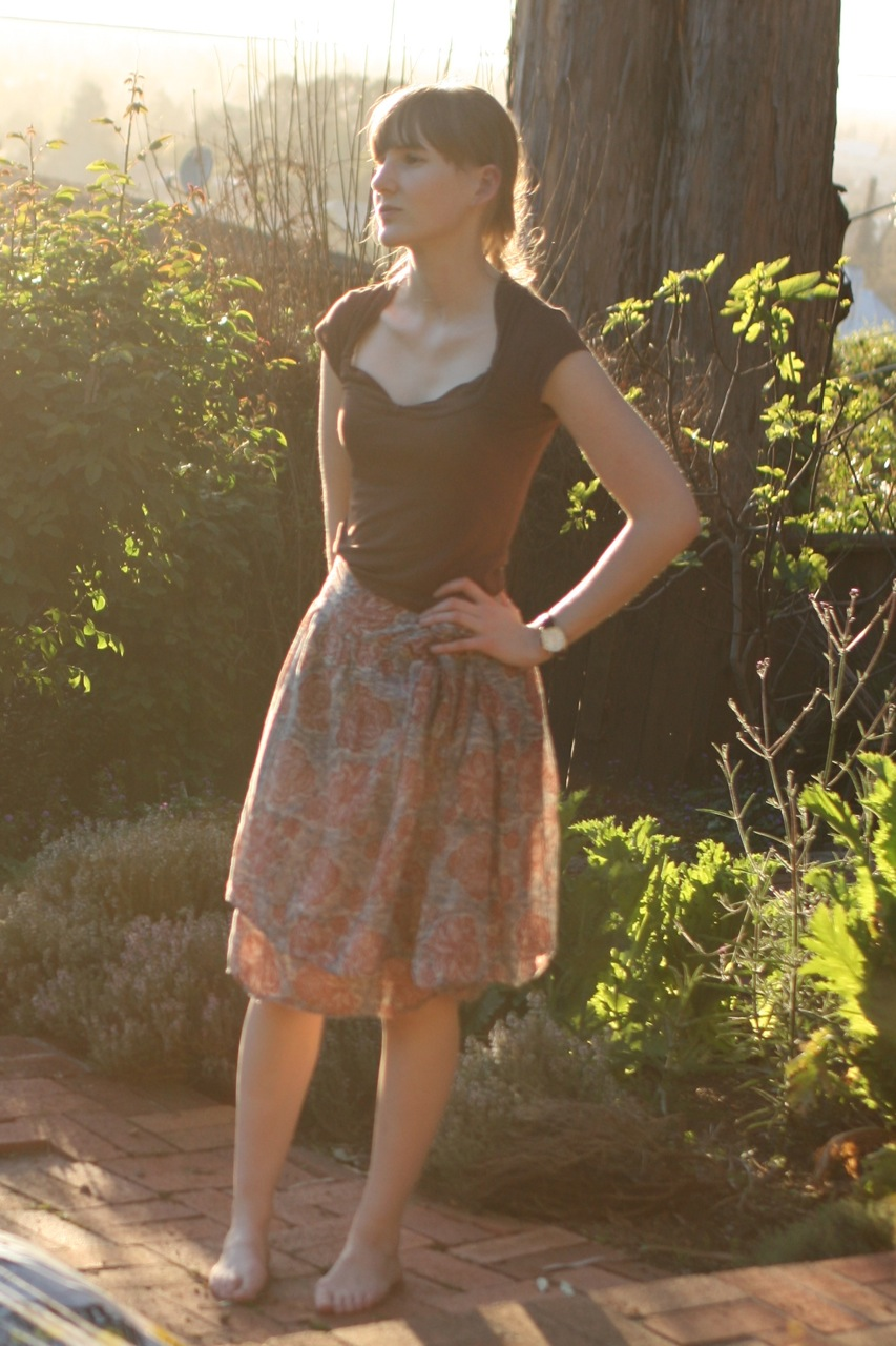 The Story of the Skirt Apron