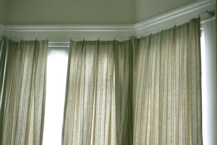 How To Make Inverted Pleat Curtains One Avian Daemon